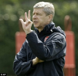 Hey Arsene, how many more years should Cesc at least have stayed at the home of football?