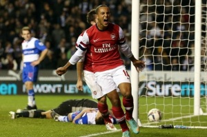 Theo is out injured, but will Cazorla find the net again (last time round he scored a fine hat-trick)? :)