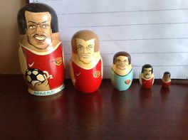 Arsenal's 'Russian Dolls of Evolution'
