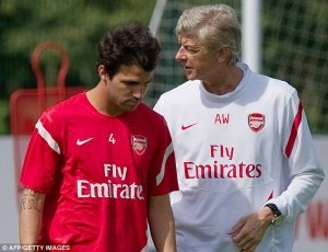 Cesc: one of the many will he /won't he this season!