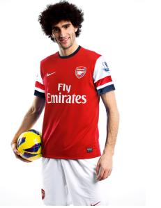 Fellaini-Arsenal-Shirt