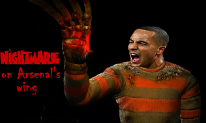 A nightmare on Arsenal's wing