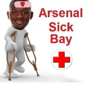 Diaby sick bay