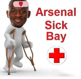 Diaby sick bay