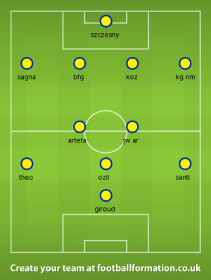 AFC new first eleven