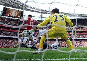 Giroud goal vs totts