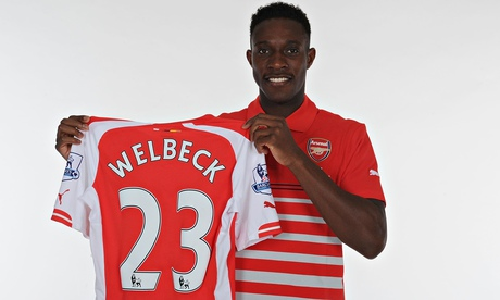 Arsenal's new signing Danny Welbeck