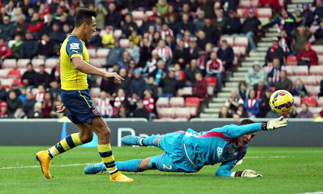 Alexis shows once more that quality and effort combined are the only way to success