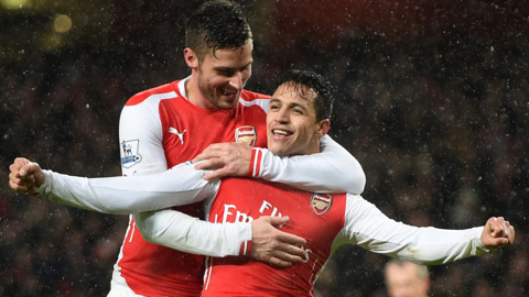Alexis and Giroud are of vital importance.... do we have adequate cover, though?