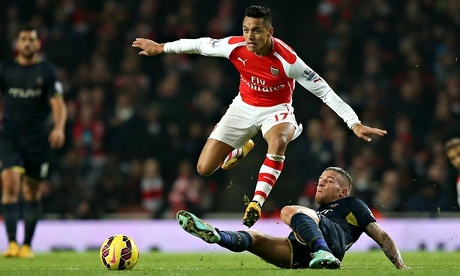 Has Alexis been saving himself for this one?