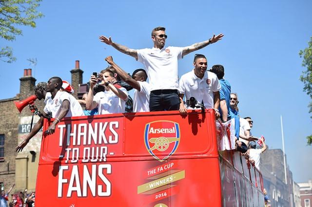 Arsenal's English midfielder Jack Wilshe