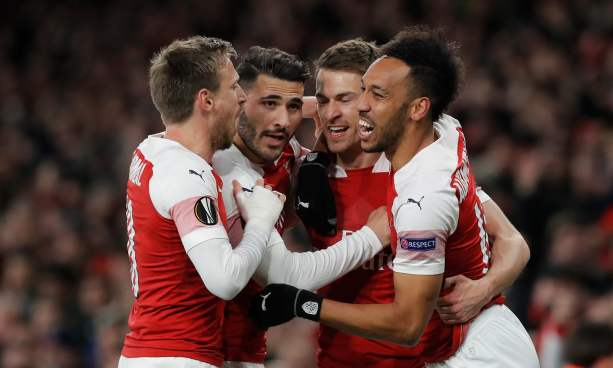Four of Arsenal