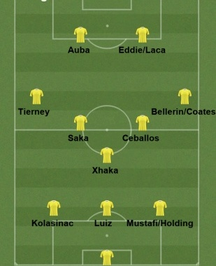 Arsenal v Wolves July 20