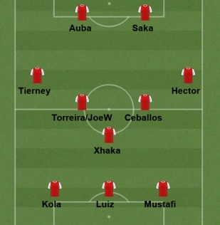 Tottenham line up july 20