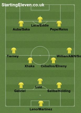 Arsenal Luiz central